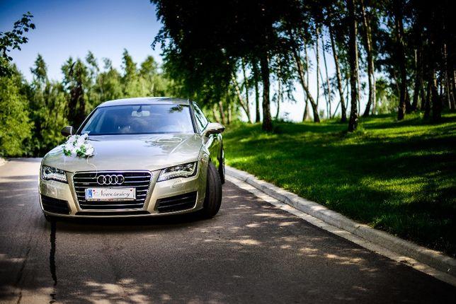Audi A7 Auto do ślubu WOLNE TERMINY