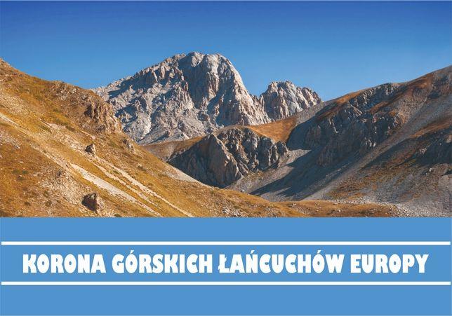 Książeczka turystyczna KORONY GÓRSKICH ŁAŃCUCHÓW Europy