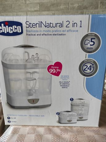 Стерелизатор для бутылок и сосок Chicco  2 ln 1