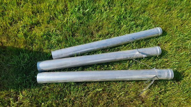 Rura kominowa stal, na uszczelkach na fi80,gaz,kondensacja.