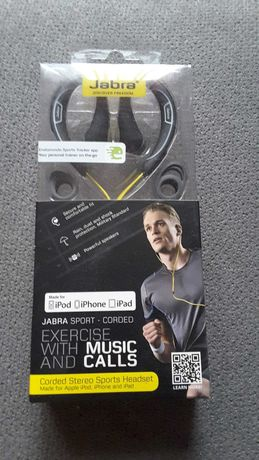 Sluchawki Jabra Sport Corded for Apple Ipad, Iphone