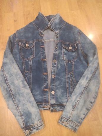 Kurtka katana jeansowa