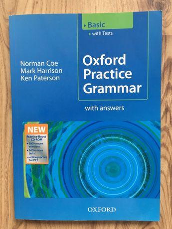 Oxford Practice Grammar Basic - podręcznik  do angielskego - nowy