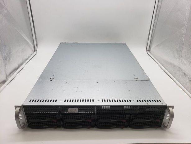 Сервер SuperChassis 825TQ-R740LPB(Xeon® E5-2650/DDR3 32Gb/4x600Gb SAS)