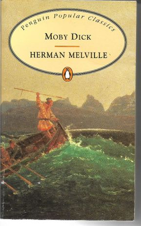 Moby Dick, by Hermann Melville