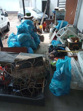 Sprzątanie opróżnianie mieszkań piwnic stychów