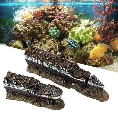 Titanic para aquário