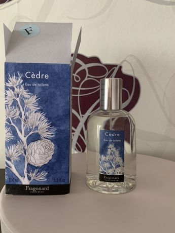 Fragonard Cedre 100ml original новые духи туалетная вода парфюм