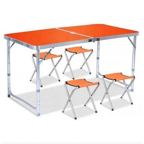 Стол для пикника+4 стула, рыбалки, отдыха,дома! АКЦИОННАЯ ЦЕНА!