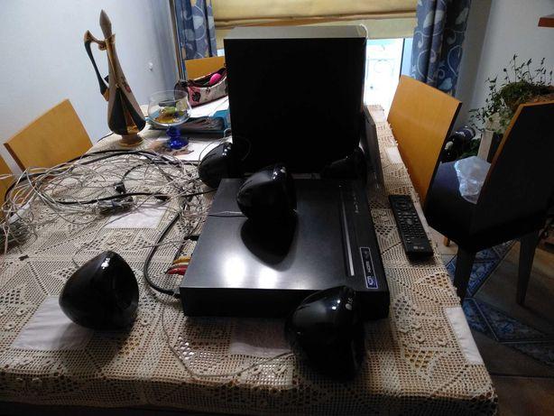 Soundrond,DVD Receiver System, MODELO LG HT305SU. Com DVD, rádio, ...