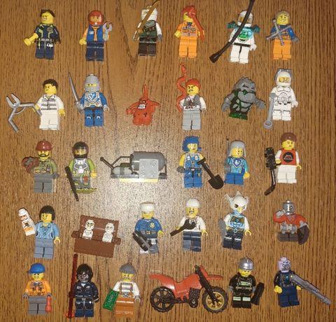Lego figurki zestaw ludziki każdy element 100% lego