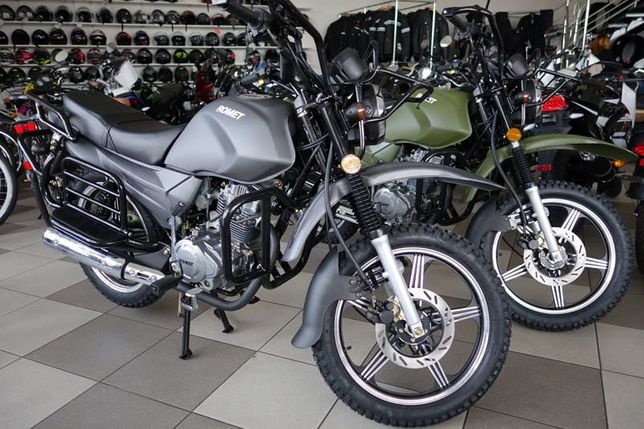 Motocykl 125 Romet ADV, Rybnik,transport 0 zł cały kraj.