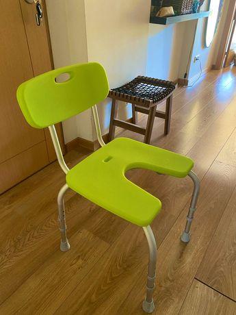 cadeira de apoio para banho