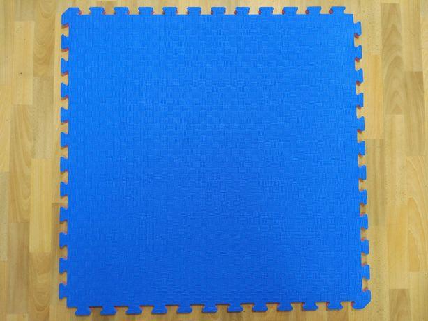 Мат татами Eva-Line синий/красный 100*100*2.6 см от производителя
