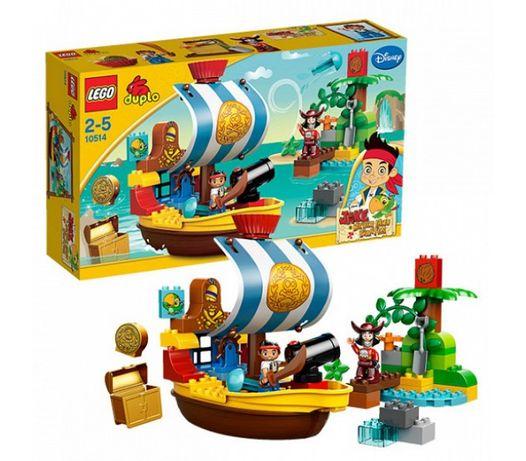 Большой набор Lego Duplo 56дет. Пиратский корабль. Новый. Оригинал.