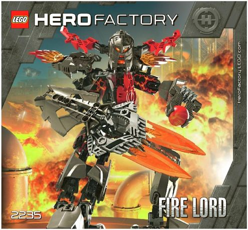 Lego Hero factory 2235 klocki Lego