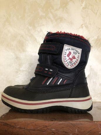 Зимові черевики Fox 26 р 16,7 см зимние ботинки термоботинки як Geox