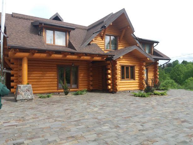 Деревянные дома,сруб,бани,альтанки -строим!