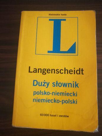 Langenscheidt. Duży słownik polsko-niemiecki