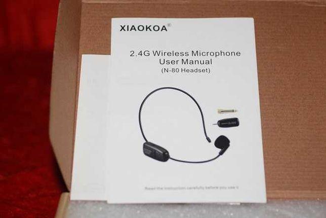 Microfone portátil com Wireless