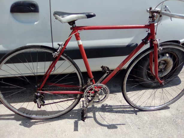 Bicicleta de ciclismos antiga