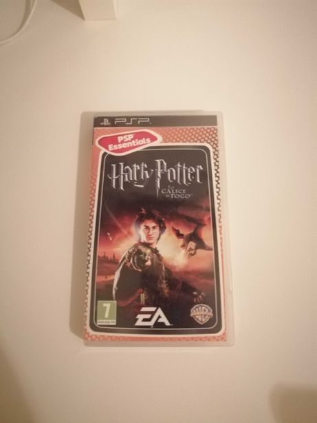 """Jogo """"Harry Potter and the Goblet of Fire"""" PSP"""