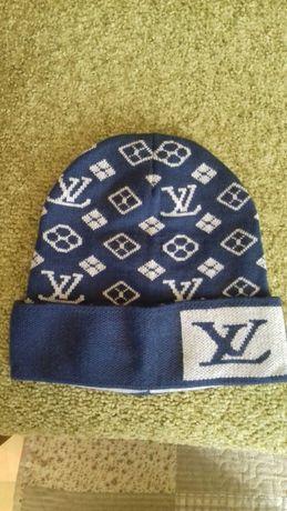 Новая теплая шапка Louis Vuitton