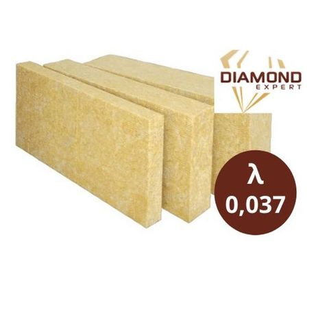 Wełna Mineralna-Domy Szkieletowe-Na Poddasza-0,037-Diamond Expert