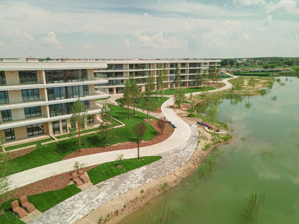 Ваша новая 1-к квартира 45 м2, ЖК Park Lake City, рядом озеро, лес