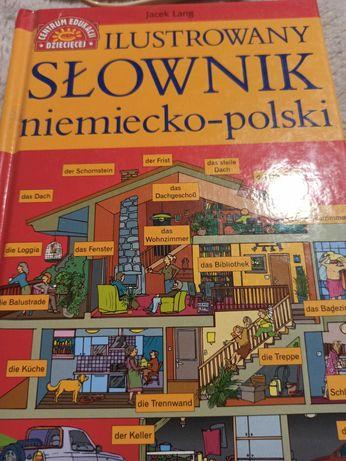 Ilustrowany słownik języka niemieckiego Jacek Lang