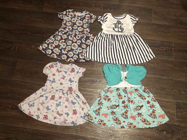 Платья для девочки рост 92-98