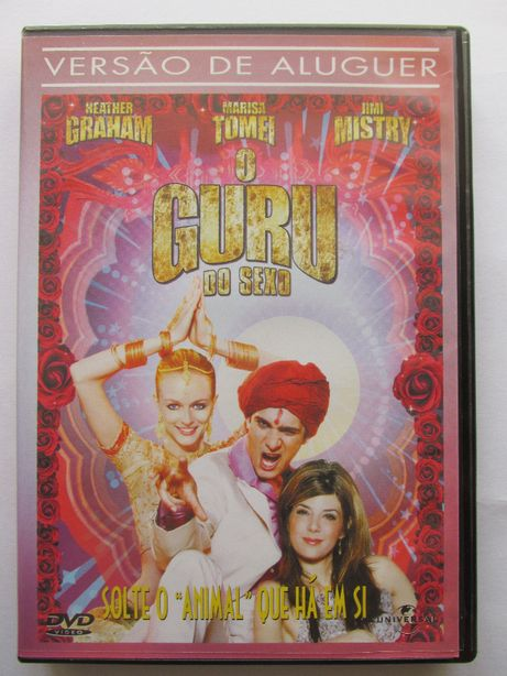 DVD - O Guru do Sexo, com Heather Graham, Jimi Mistry, Marisa Tomei