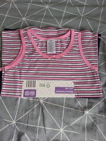 Nowe koszulki z BIO bawełny 134