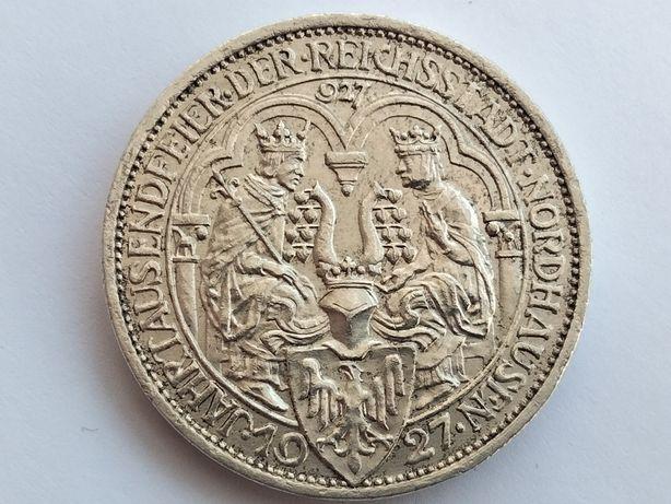 3 марки 1927 г. Нордхаузен