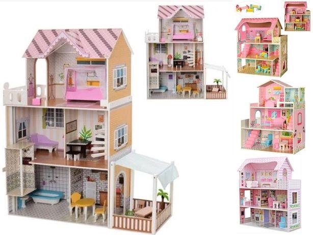 Деревянный Домик для кукол домик для куклы кукольный домик 1204 идруги
