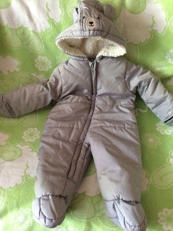 Зимний термо комбинезон на мальчика девочку