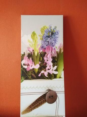 Sprzedam obraz na płótnie o wym. 40cmx100cm na stelażu drewnianym