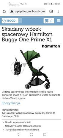 Wózek spacerowy Hamilton Buggy one x1