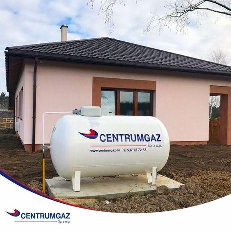 Zbiornik na gaz propan 2700, 4850, 6400, montaż, na płynny gaz, lpg
