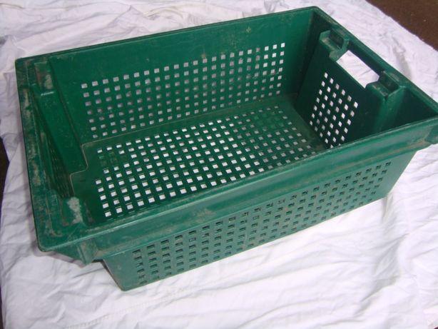 Ящик пластиковый конусный Тип3. РР 28\18 600х400х200мм-зеленый