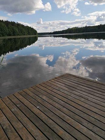 Mazury.Cisza.Las,Jezioro,łódka,rowery.Wolny.