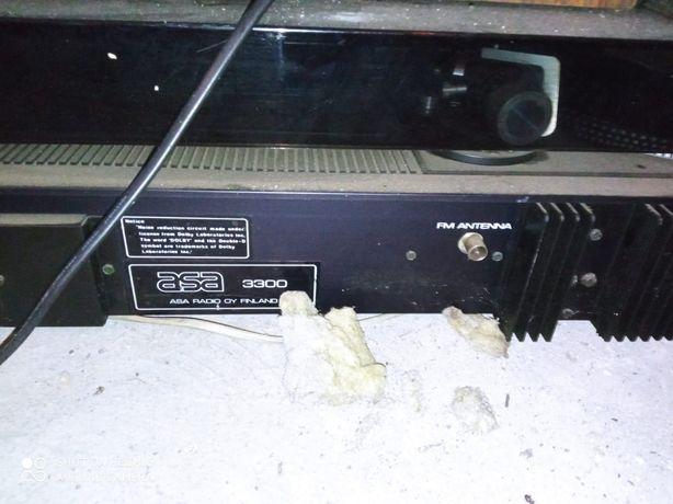 Gramofon, radio, magnetofon, asa 3300