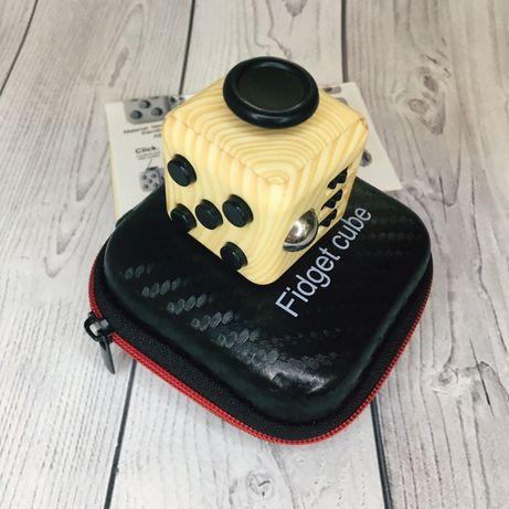 Кубик-антистресс Fidget Cube + сумочка ( хорошее качество кубика)