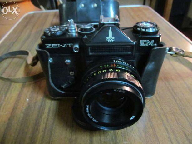 Máquina fotográfica zenit-em é uma slr de filme 35mm câmara