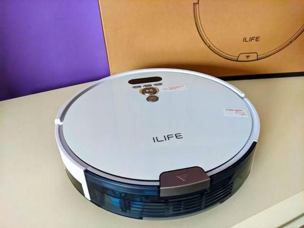 Умный Робот пылесос ILIFE V8 Plus Турбо уборка влажная лучше Xiaomi
