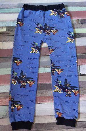Spodnie dresowe baggy handmade  rozmiar 122 LEGO BATMAN