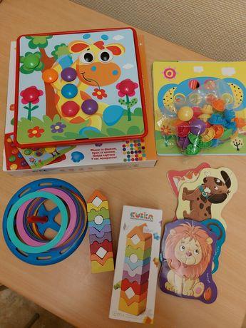 Пакет детских игрушек с 2х лет