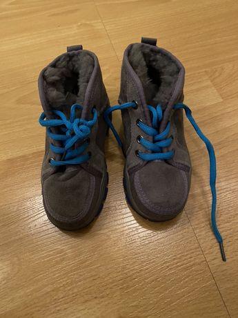 Ботинки зимние как угги детские натуральный замш/мех.26 размер