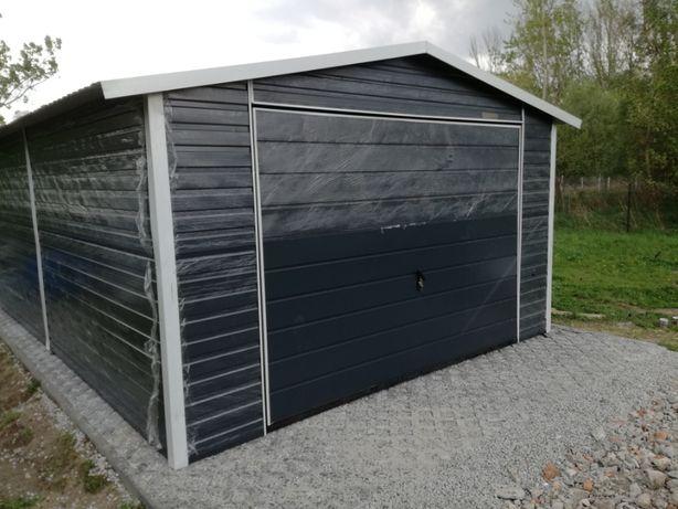 Garaż blaszany antracyt 4x5 ,blaszak, różne klory