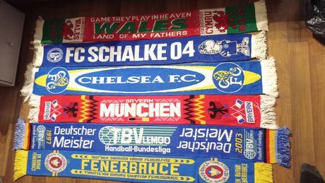 Szaliki Schalke 04 Bayern Munchen Fenerbahce Chelsea FC Wales TBV